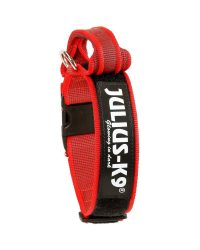 julius-collar-40mm-rojo-gris