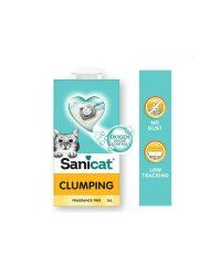 sanicat-clumping-unscented-10l